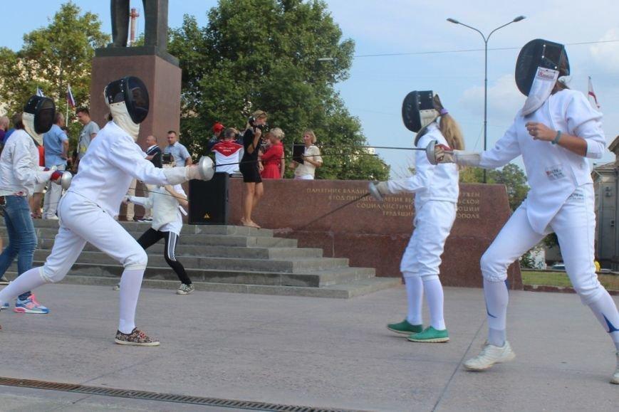 В центре Симферополя отпраздновали открытие XXХI Олимпийских игр (ФОТО), фото-4