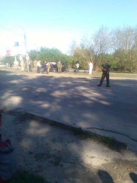В Луганске совершено покушение на Плотницкого (ФОТО,ВИДЕО), фото-2