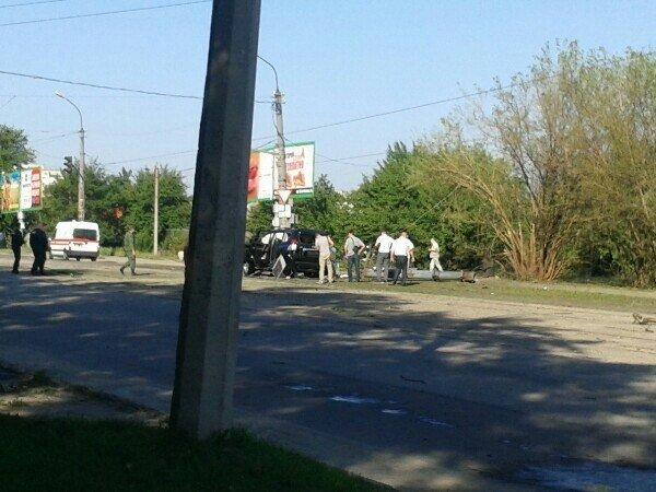 В Луганске совершено покушение на Плотницкого (ФОТО,ВИДЕО), фото-1