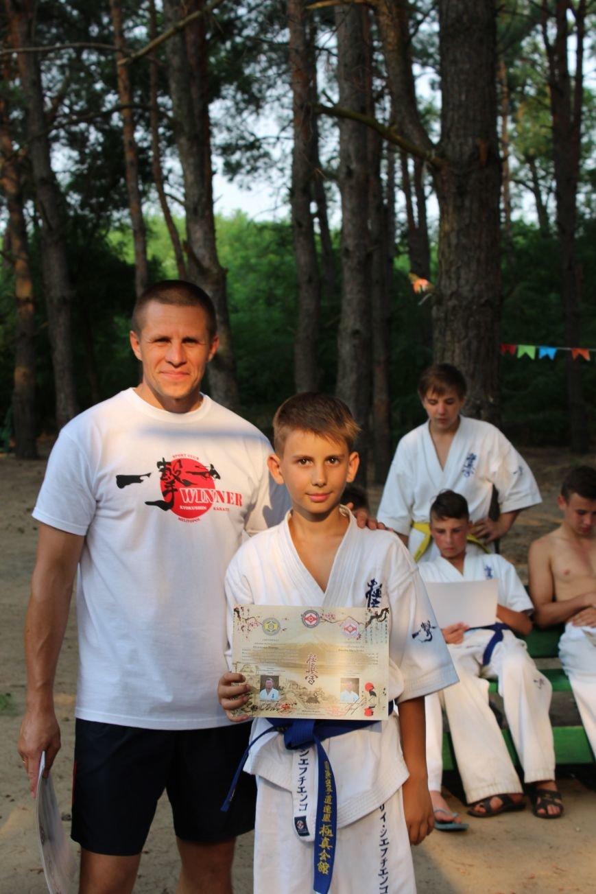 Мелитопольские каратисты показали свое мастерство в летней школе, фото-8