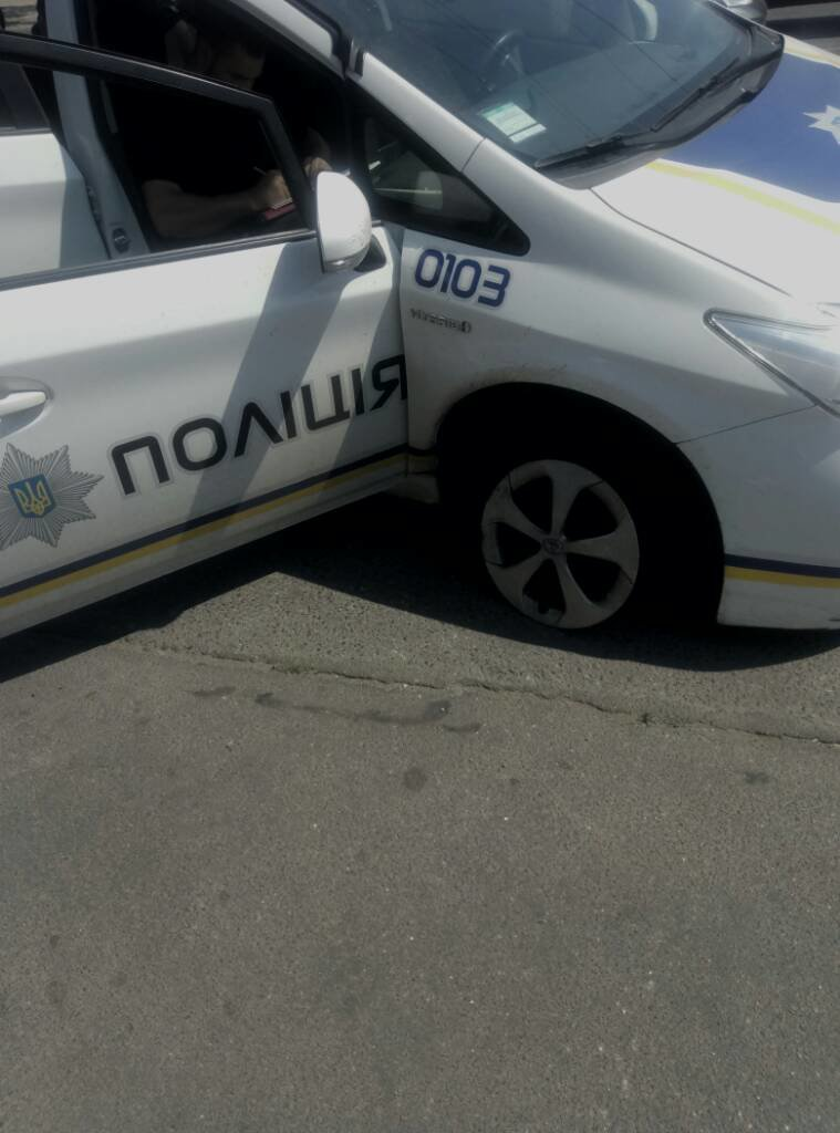 В Одессе полицейская машина попала в ДТП (ФОТО), фото-2