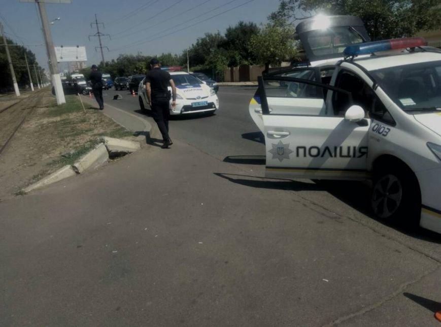 В Одессе полицейская машина попала в ДТП (ФОТО), фото-3