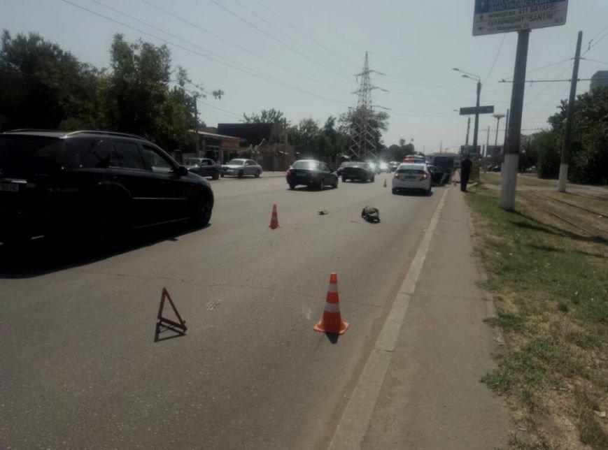 В Одессе полицейская машина попала в ДТП (ФОТО), фото-1