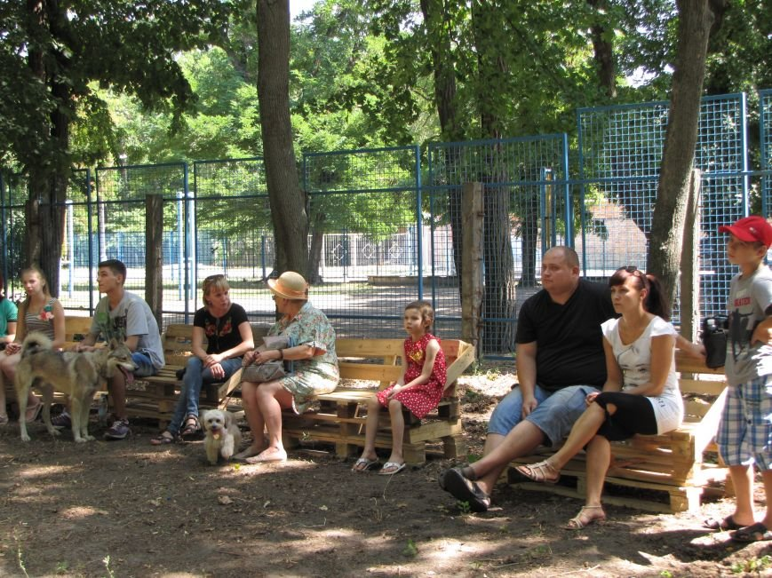 В Мелитополе презентовали первую тренировочную площадку для собак (фото), фото-6