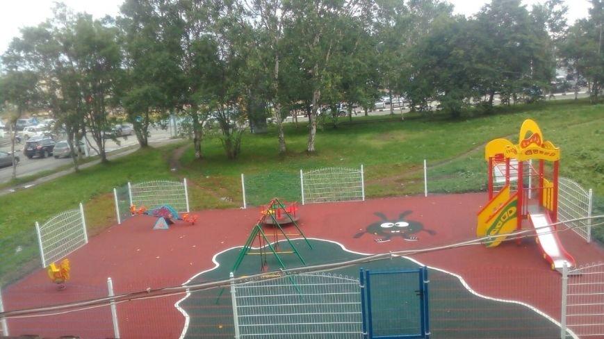 Заслуживают ли все жители сахалинского Корсакова хороших детских площадок, фото-3