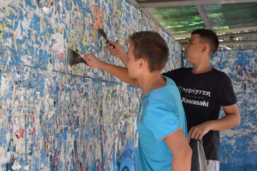 Общественность и спортсмены Гаспры присоединились к общегородскому субботнику, фото-3