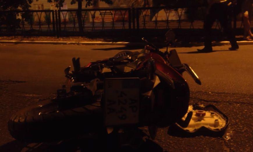 ВЗапорожской области вДТП умер мотоциклист иего спутница