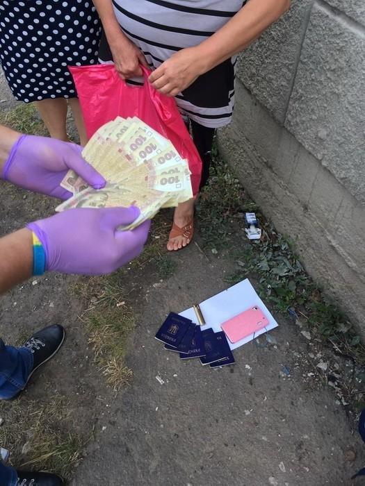 Сотрудники СБУ задержали на взятке сотрудницу миграционной службы Донетчины, фото-1