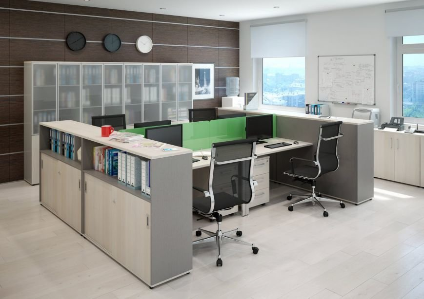 Офисная корпусная мебель на заказ