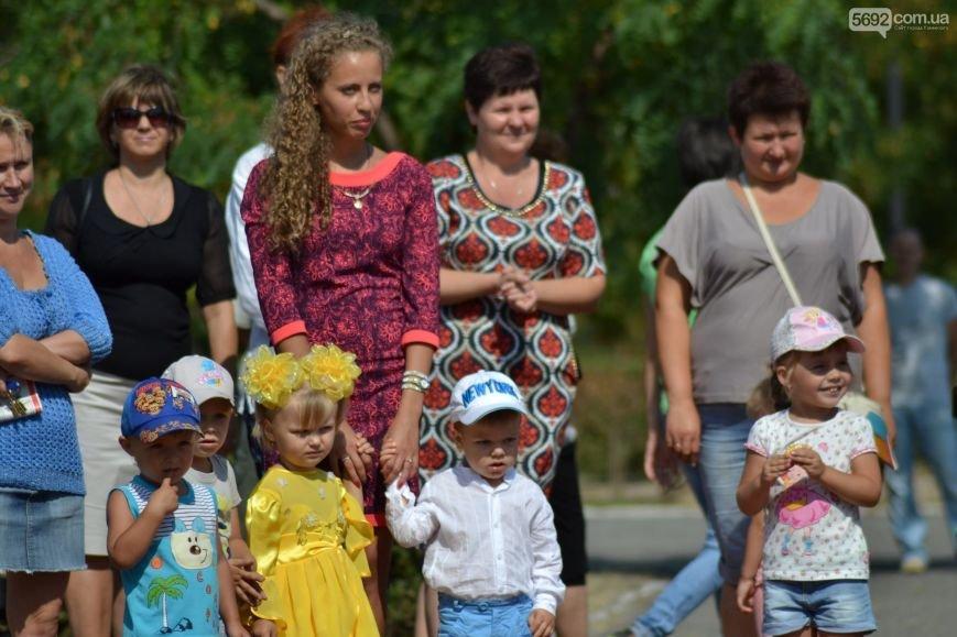 На Левобережье Каменского открылась детская площадка, фото-12