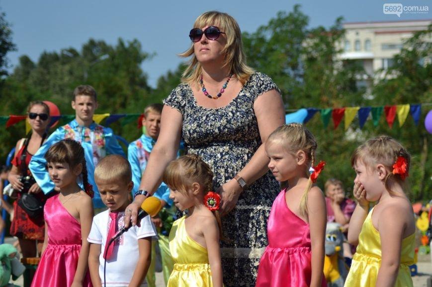 На Левобережье Каменского открылась детская площадка, фото-7
