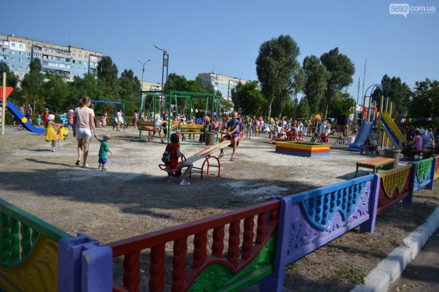 На Левобережье Каменского открылась детская площадка, фото-2