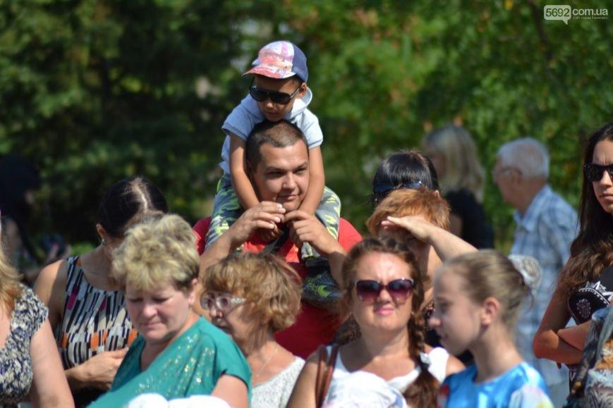 На Левобережье Каменского открылась детская площадка, фото-11