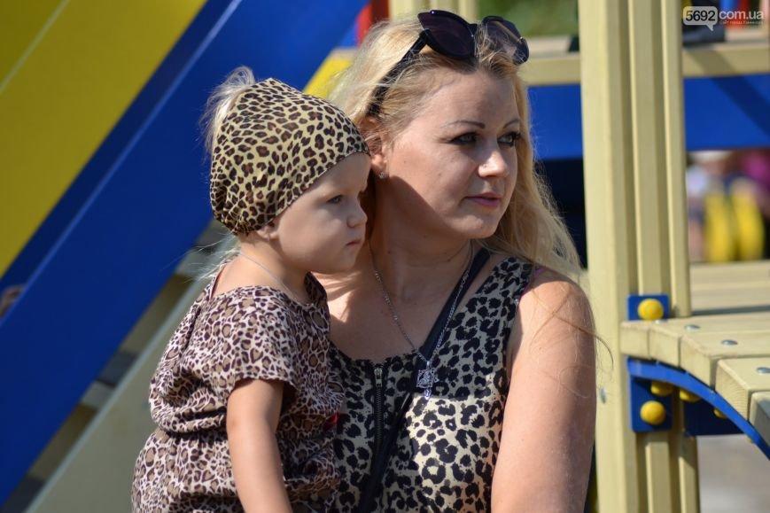 На Левобережье Каменского открылась детская площадка, фото-9