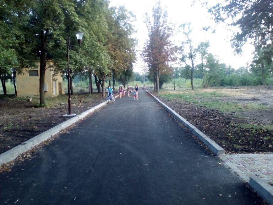 Краматорчане осваивают закрытый Сад Бернацкого, фото-1
