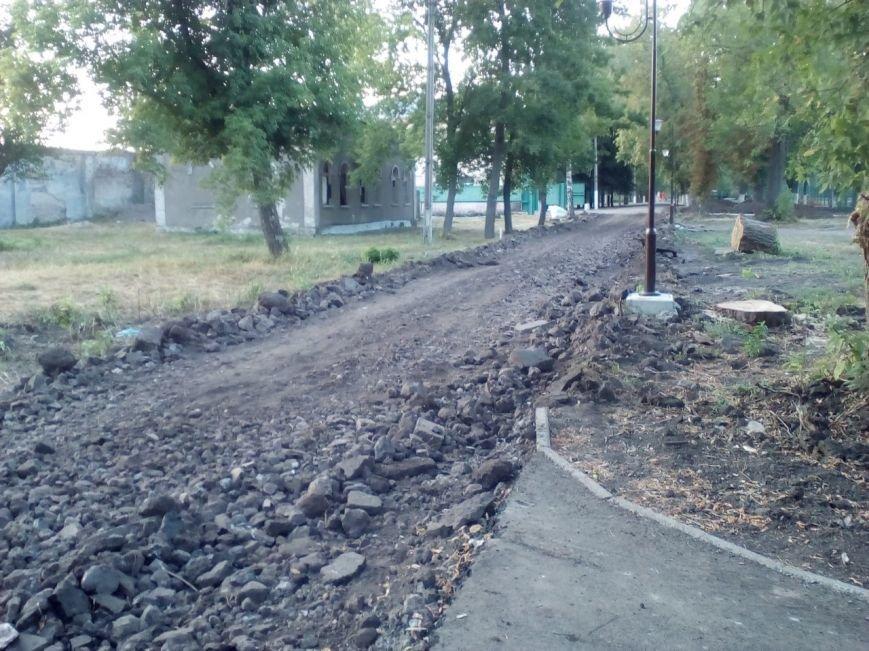Краматорчане осваивают закрытый Сад Бернацкого, фото-4