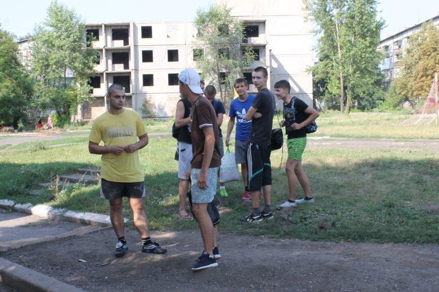 В Доброполье состоялся турнир по дворовому футболу, фото-1