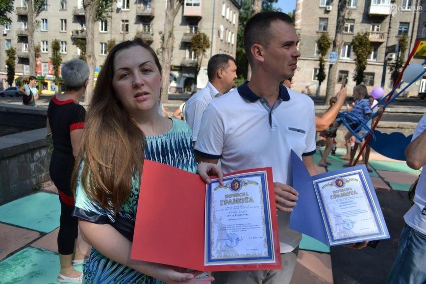 В центре Каменского открыли детскую площадку, фото-4