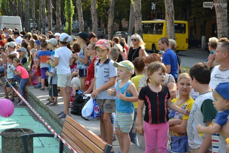 В центре Каменского открыли детскую площадку, фото-3