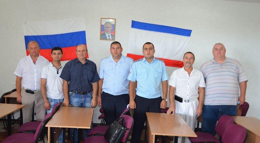 В Ялте сотрудники ГИБДД встретились с руководителями автошкол, фото-1