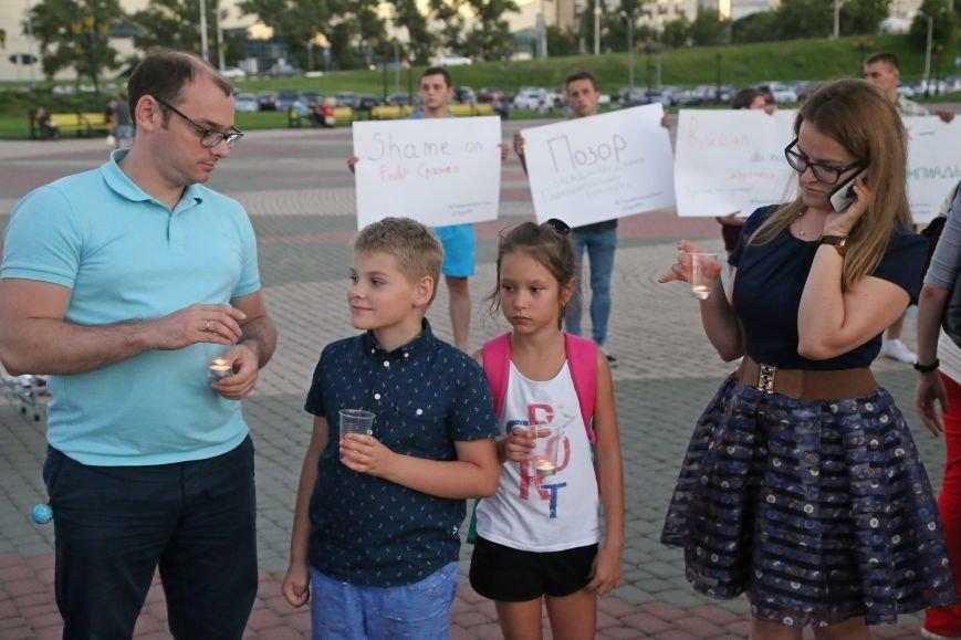 Белгородские паралимпийцы вышли на акцию в поддержку отстранённых спортсменов. Фоторепортаж, фото-4