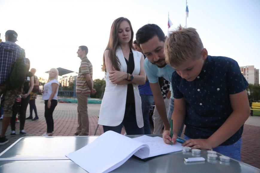 Белгородские паралимпийцы вышли на акцию в поддержку отстранённых спортсменов. Фоторепортаж, фото-9
