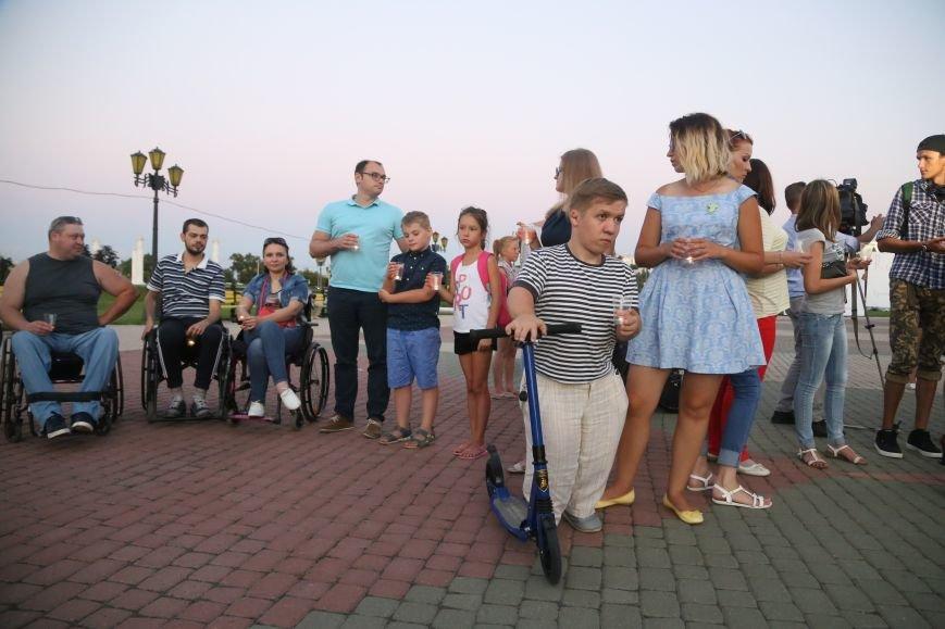 Белгородские паралимпийцы вышли на акцию в поддержку отстранённых спортсменов. Фоторепортаж, фото-5