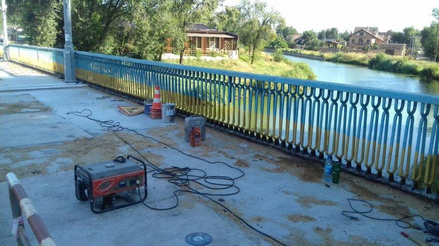 В Кривом Роге завершают ремонт моста на улице Петра Калнышевского (ФОТО), фото-8