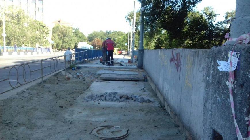 В Кривом Роге завершают ремонт моста на улице Петра Калнышевского (ФОТО), фото-9
