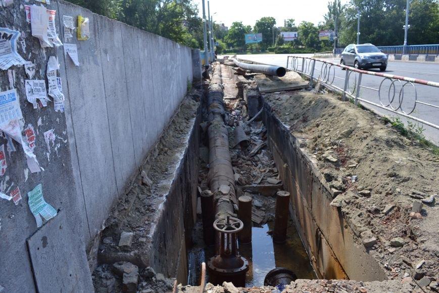 В Кривом Роге завершают ремонт моста на улице Петра Калнышевского (ФОТО), фото-2