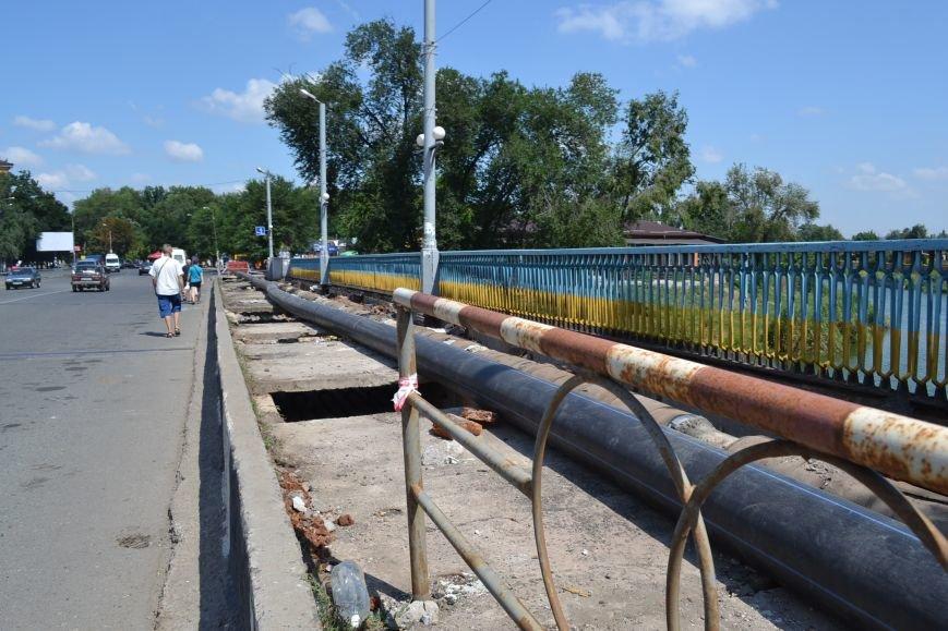 В Кривом Роге завершают ремонт моста на улице Петра Калнышевского (ФОТО), фото-6