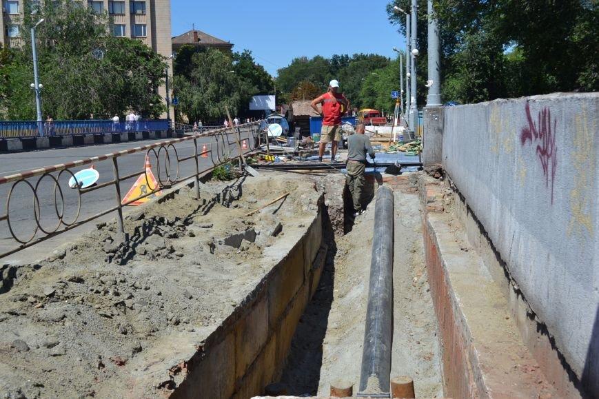 В Кривом Роге завершают ремонт моста на улице Петра Калнышевского (ФОТО), фото-7