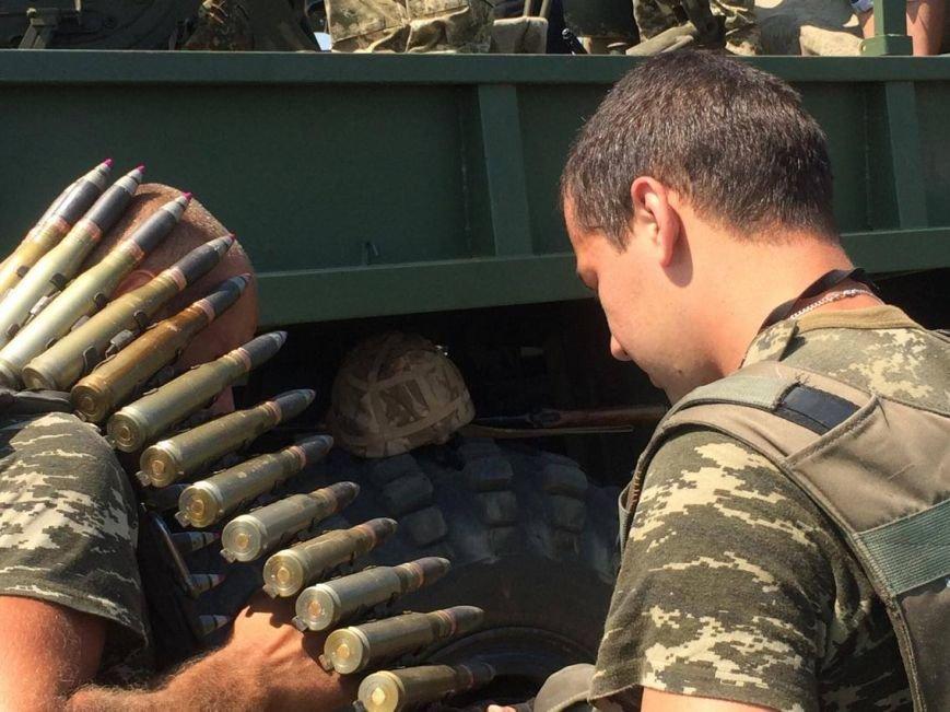 Под Мариуполем  пограничники провели учения на новых БТРах (ФОТО, ВИДЕО), фото-5