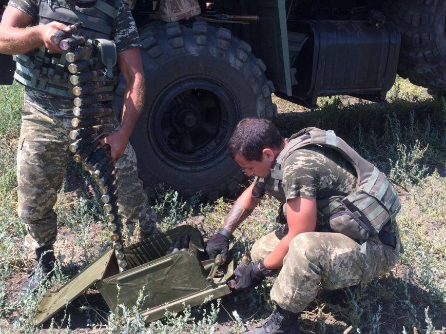 Под Мариуполем  пограничники провели учения на новых БТРах (ФОТО, ВИДЕО), фото-4