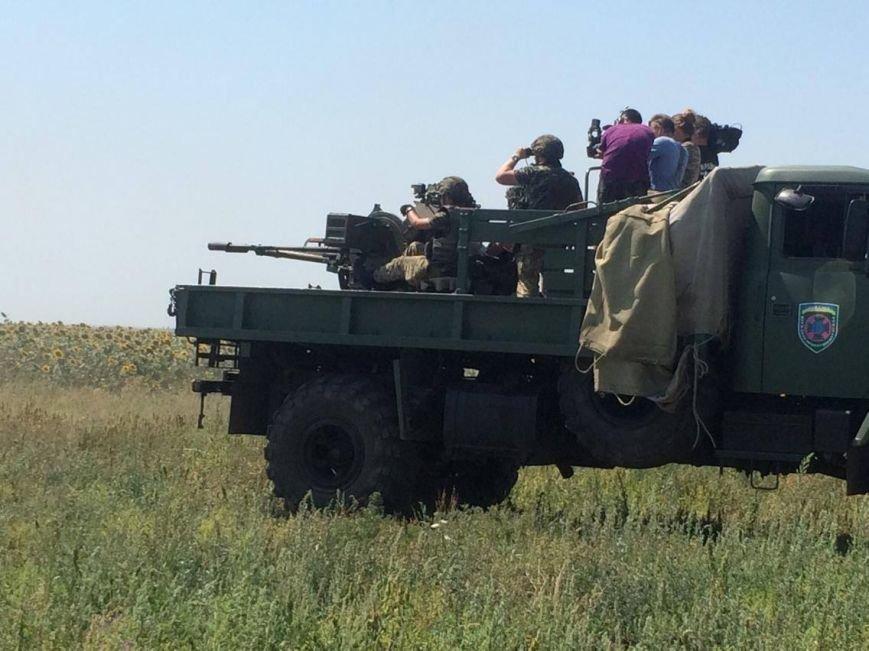 Под Мариуполем  пограничники провели учения на новых БТРах (ФОТО, ВИДЕО), фото-7