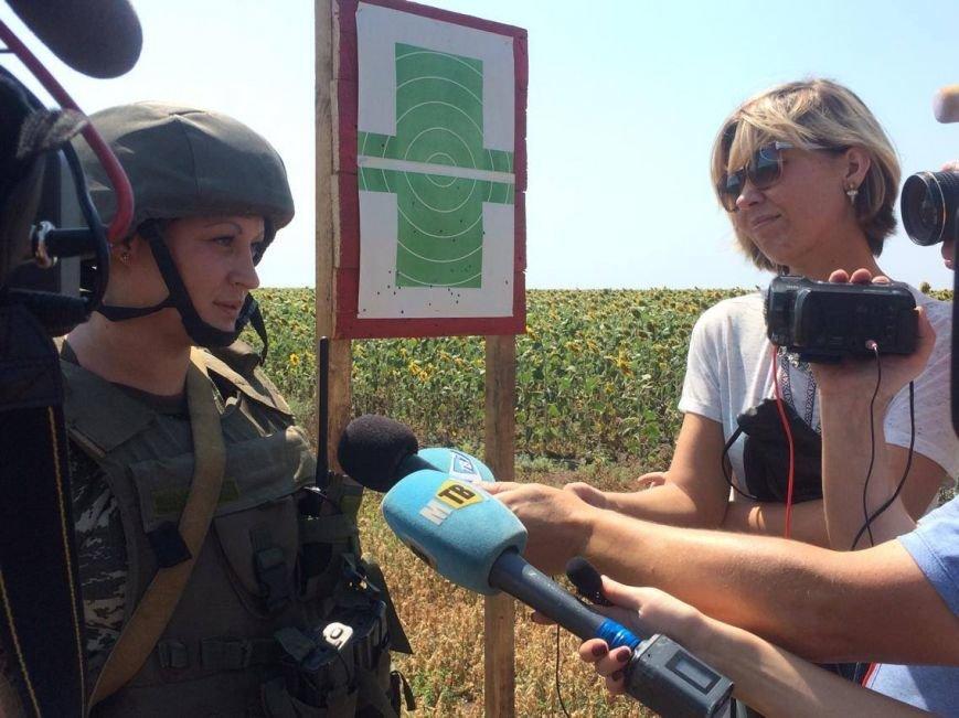 Под Мариуполем  пограничники провели учения на новых БТРах (ФОТО, ВИДЕО), фото-3