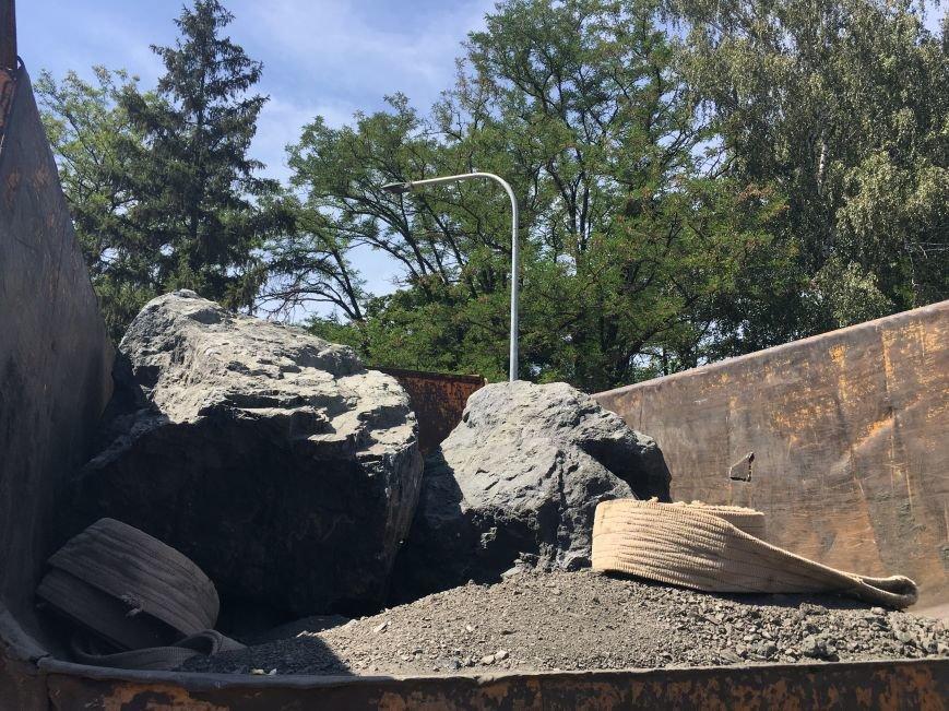 В парке Героев Кривого Рога заложили первые камни для памятника Козаку Мамаю (ФОТО), фото-4