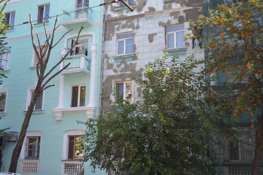 В Каменском начали ремонтировать фасад здания на проспекте Шевченко, фото-2