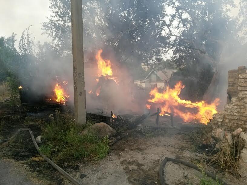 В Мариуполе пожарные спасли два дома от бушевавшего пожара (ФОТО), фото-3