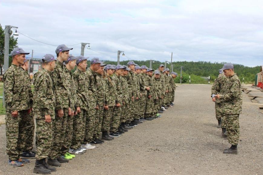 Военно-патриотический лагерь начал работу в селе Троицком на Сахалине, фото-1