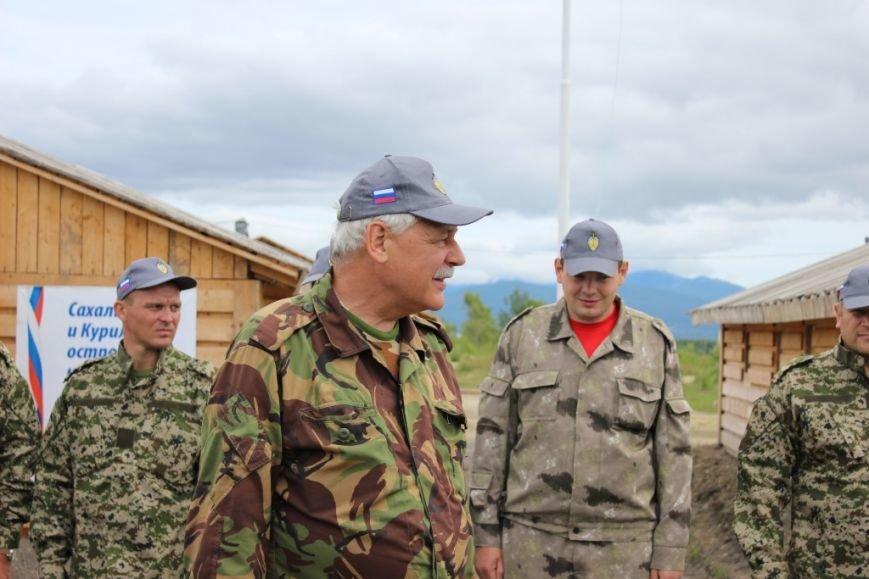 Военно-патриотический лагерь начал работу в селе Троицком на Сахалине, фото-2