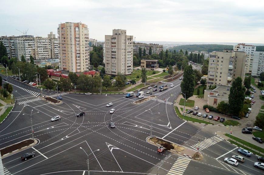 Как белгородцы проезжают новый перекрёсток Губкина и Ватутина. Видео, фото-1