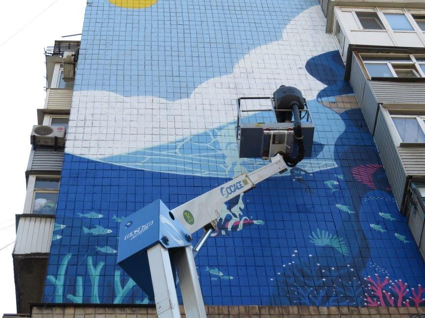 В Мариуполе на высоте 30 метров рождается море (ФОТО), фото-4