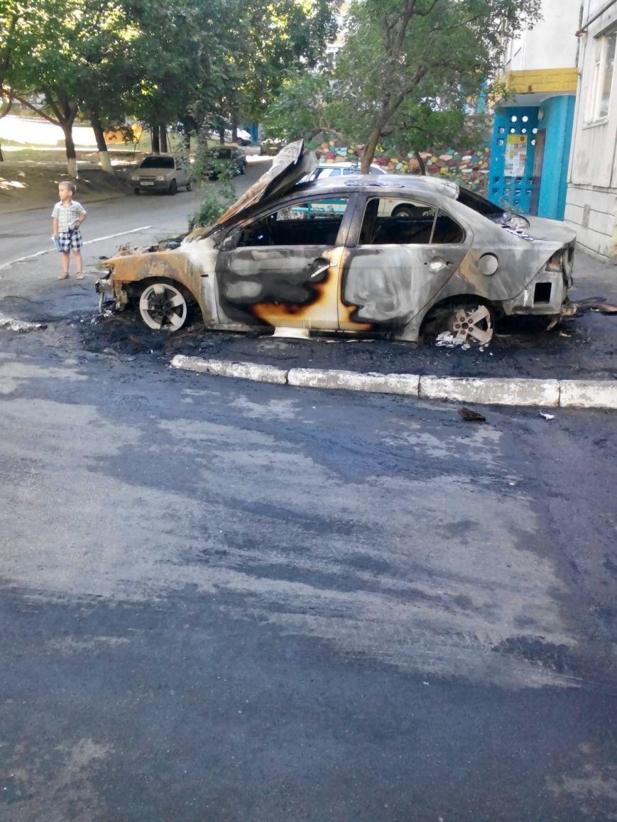 Біла Церква: як за 20 хвилин згоряє авто (відео), фото-2