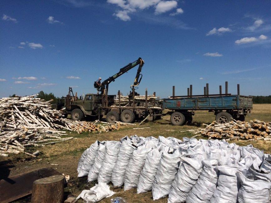 В Ємільчинському районі демонтували незаконні бочки для випалювання деревного вугілля, фото-2