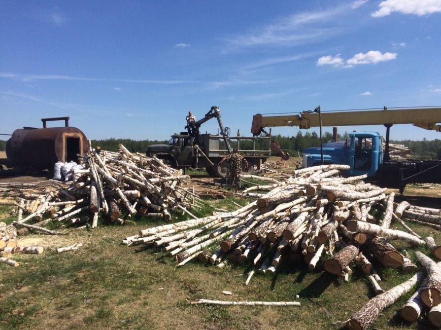 В Ємільчинському районі демонтували незаконні бочки для випалювання деревного вугілля, фото-5