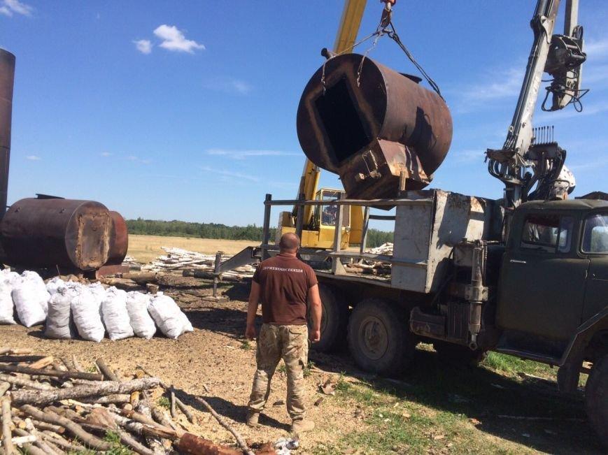 В Ємільчинському районі демонтували незаконні бочки для випалювання деревного вугілля, фото-4