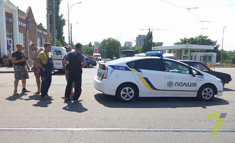 В Одессе маршрутчики напали на мотоциклистов (ФОТО), фото-4