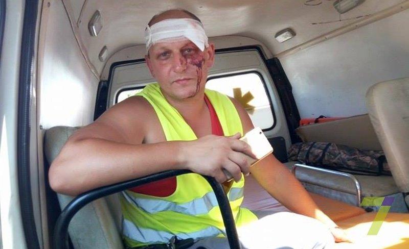 В Одессе маршрутчики напали на мотоциклистов (ФОТО), фото-1
