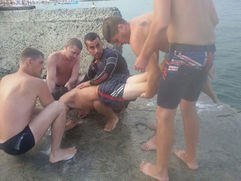 На одесском пляже спасли пьяного ныряльщика (ФОТО), фото-1